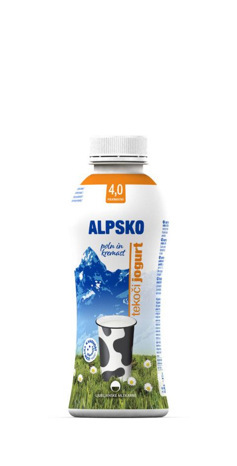Alpsko tekoči jogurt