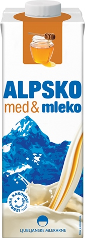 Alpsko mleko honey