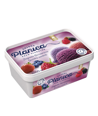 Planica Gozdna: strawberry, blueberry, forrest fruits