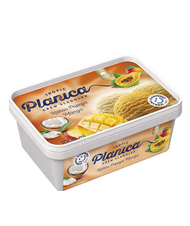Planica Tropic: coconut, papaya, mango