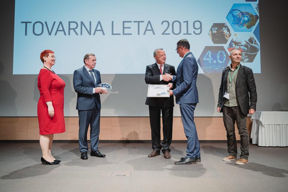 Tovarna leta 2019, podelitev nagrad
