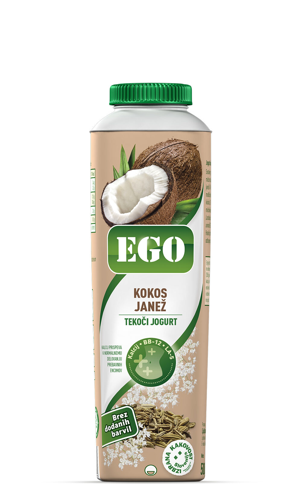 Ego, kokos, janež