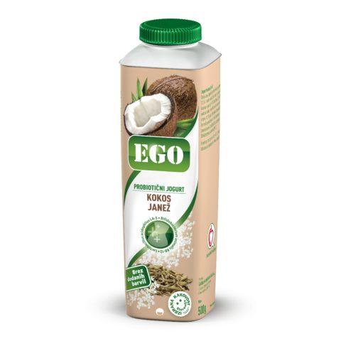 Ego tekoči, probiotik; kokos, janež