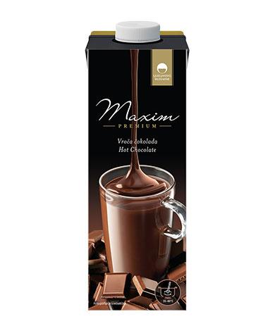 Maxim Premium vroča čokolada
