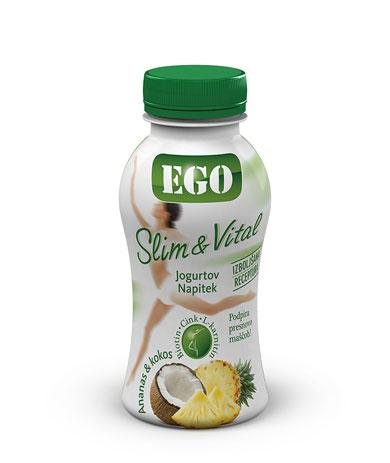 Ego Slim & Vital pineapple coconut