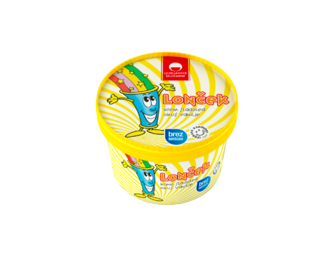 Lonček vanilja, brez laktoze
