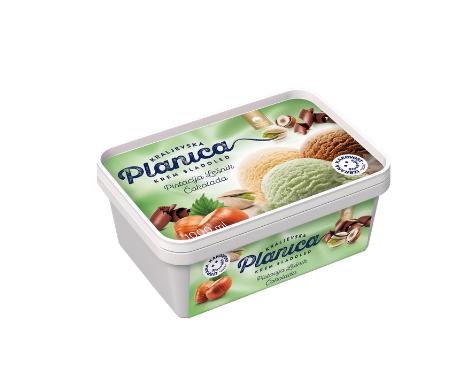 Planica Kraljevska: pistachio, hazelnut, chocolate